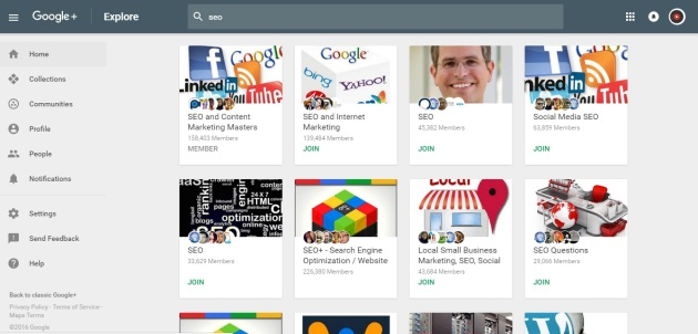 Google Blogging Community